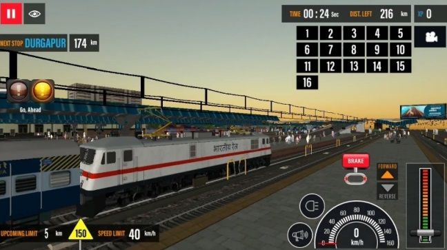 indian train game