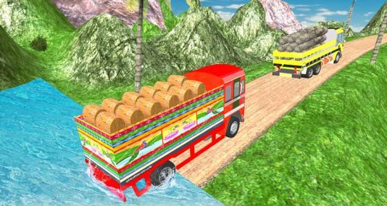 indian truck wala game
