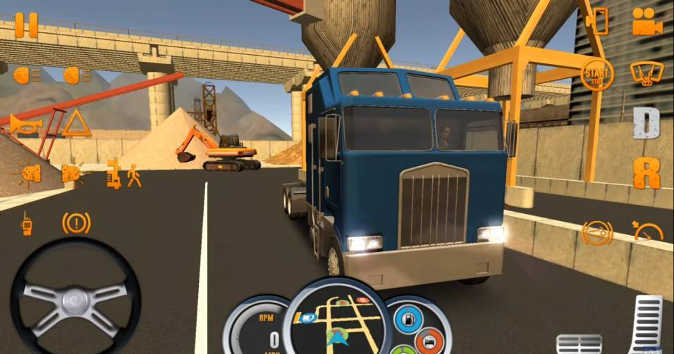 game Truck Simulator USA