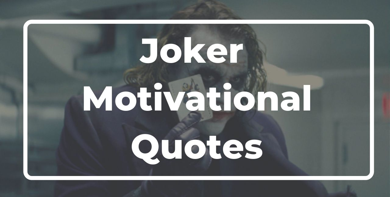 Joker Motivational Quotes hindi