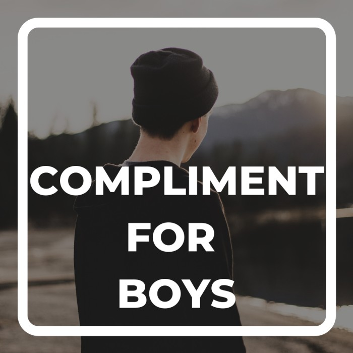 compliment for boys