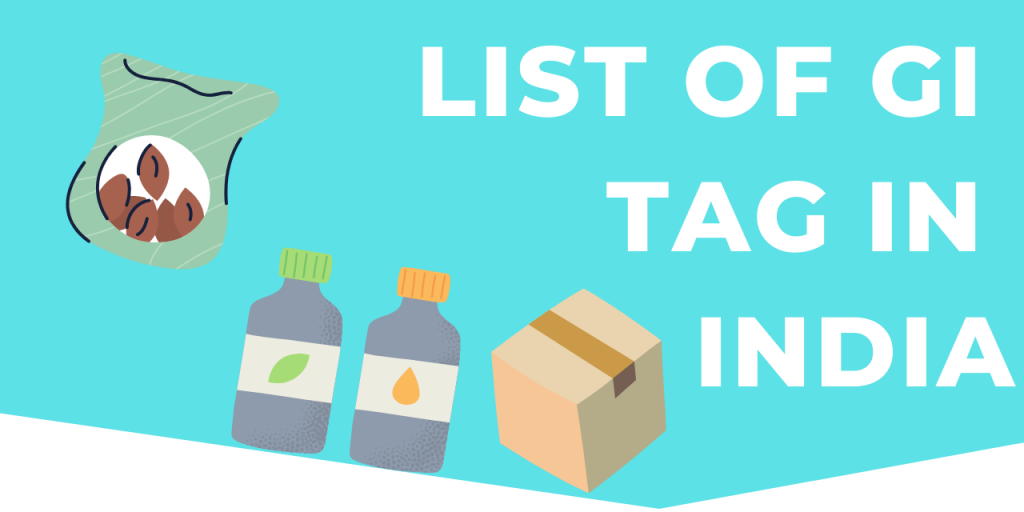 List Of GI Tag In India pdf