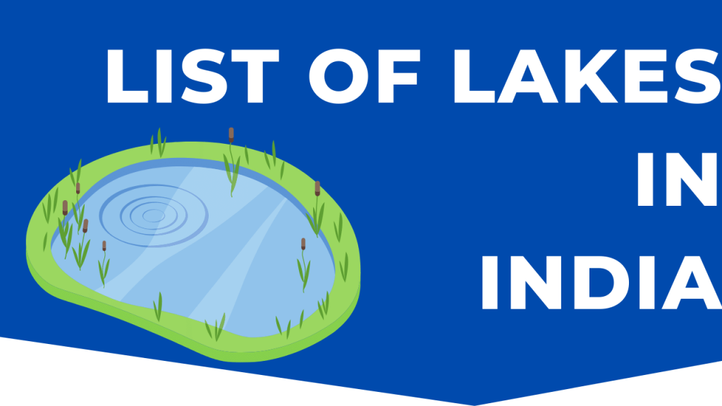 List of lakes in india pdf